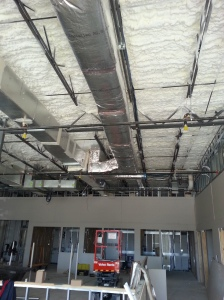 New Metal Duct Work at the Central Florida Kidney Center